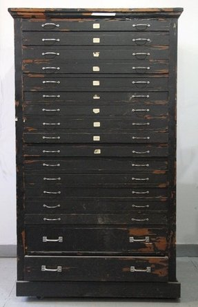 Flat file cabinets foter flat file cabinet used malvernweather Images