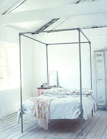 Four poster bed canopy frame & Four Post Canopy Bed Frame - Foter
