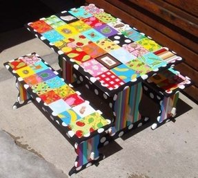Hand Painted Childrens Table And Chairs Ideas On Foter