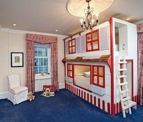 House bunk beds