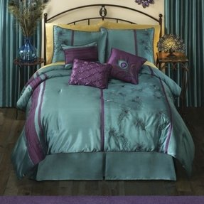Jennifer lopez peacock bedding