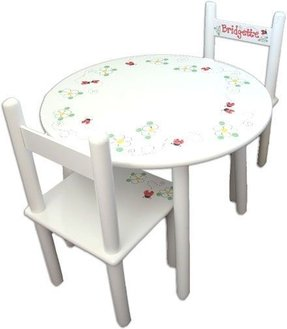 017f4f214d8 Kids Konference Table and Chairs - Handpainted   Personalized