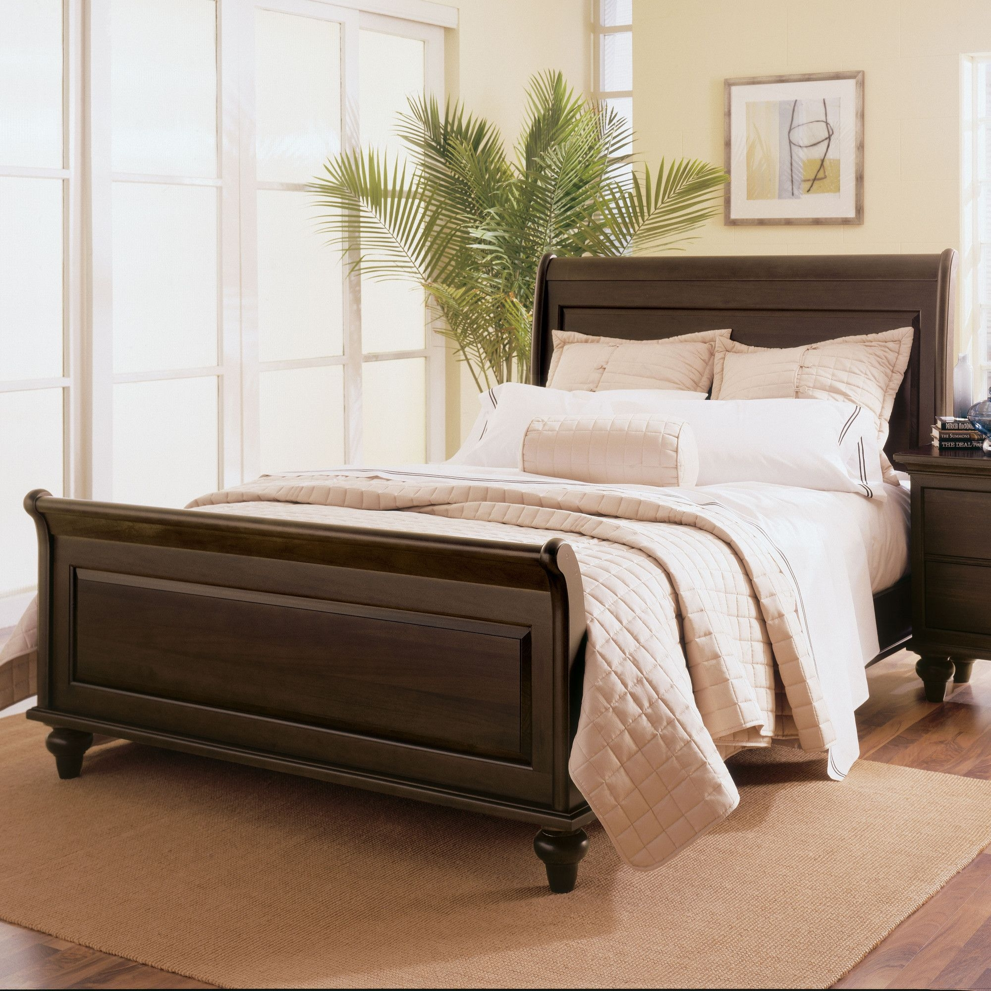 Kincaid somerset sleigh bed