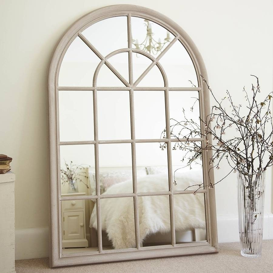 Large arched window mirror & Arched Window Mirror - Foter