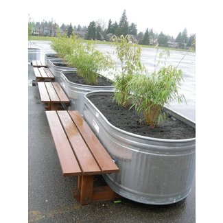 Large Metal Planters Ideas On Foter