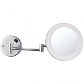 Battery operated wall mounted lighted makeup mirror foter led light wall mounted makeup mirror aloadofball Choice Image