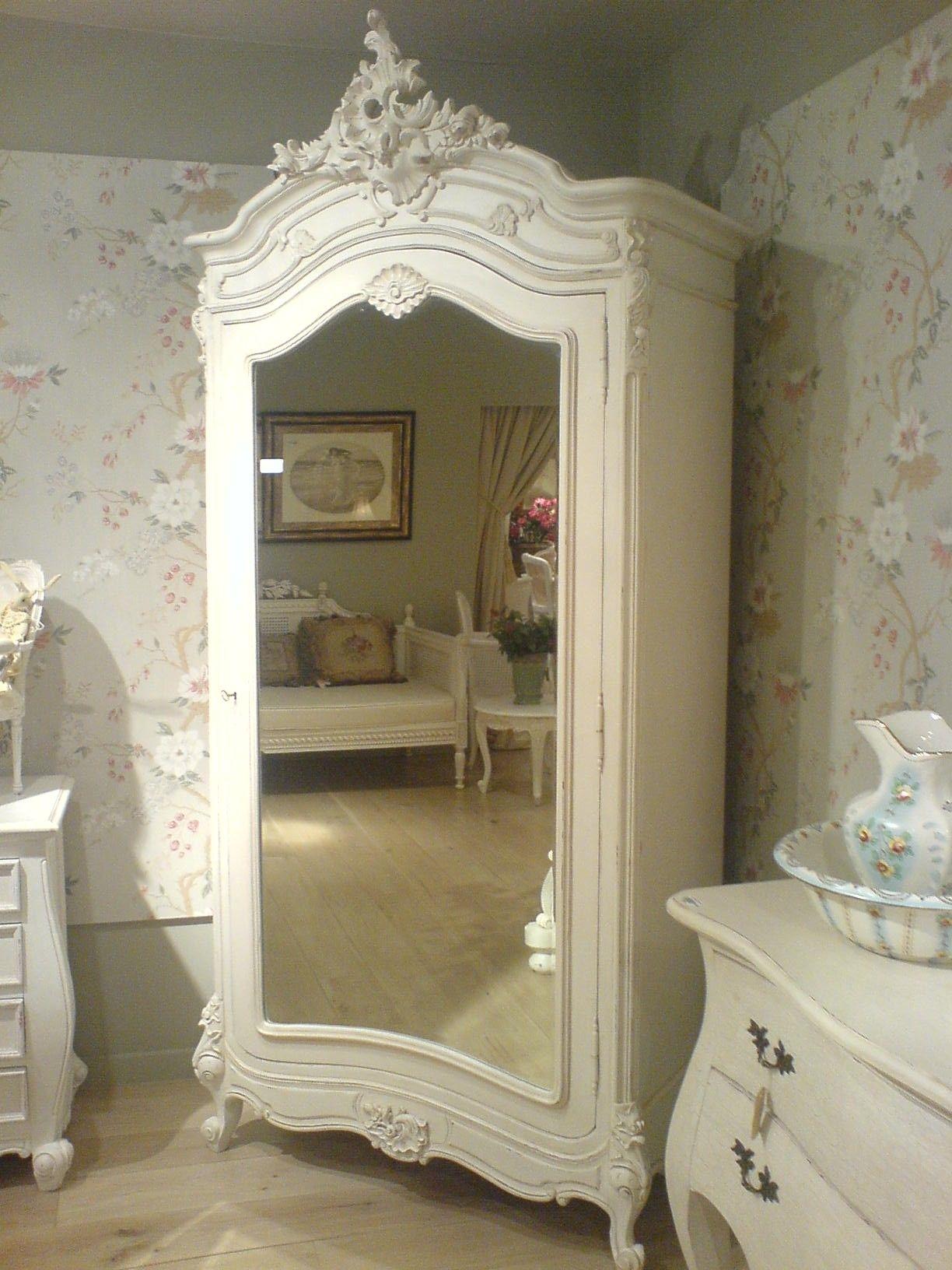 Merveilleux Mirrored Armoire Wardrobe 2