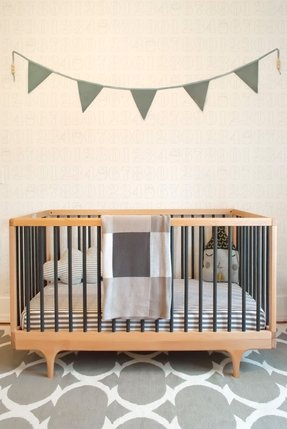 natural wood baby crib foter. Black Bedroom Furniture Sets. Home Design Ideas