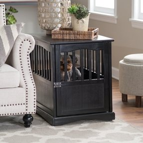 Newport pet crate end table 1