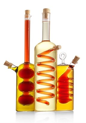 Olive oil and vinegar cruet 12