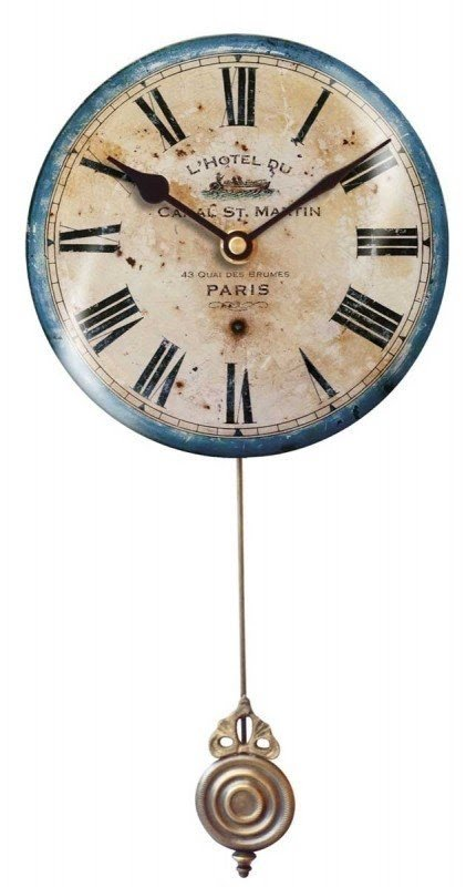 Home Furniture Diy Kitchen Clock Round Clock In French Style Vineyard Cottage Wall Clock Wall Clocks Duyas Com Tr