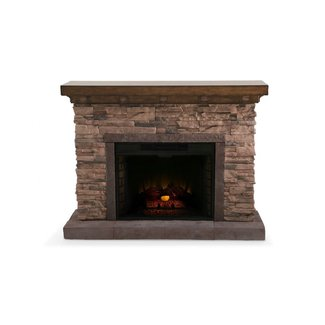 Outdoor electric fireplaces 1
