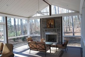 Outdoor electric fireplaces 2