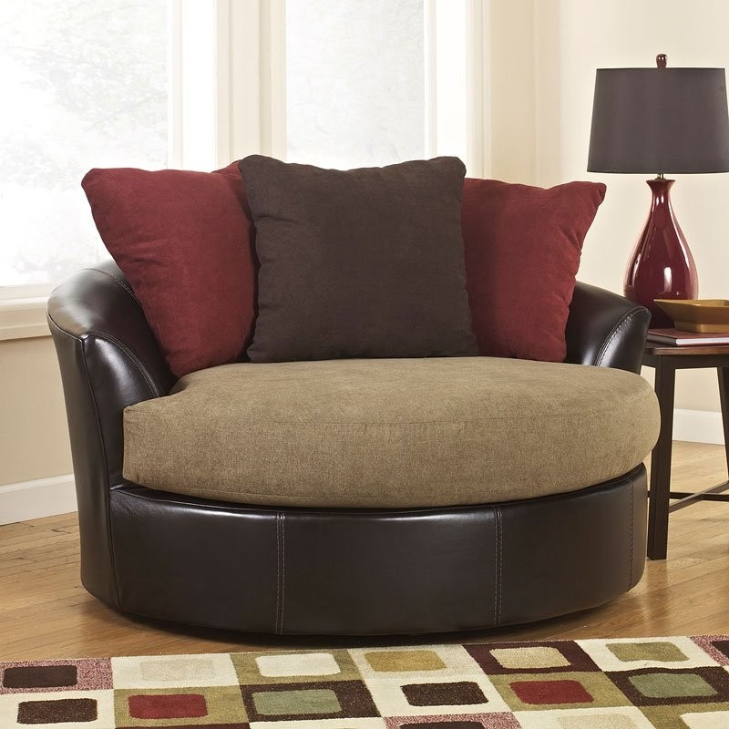 Genial Oversized Round Chair