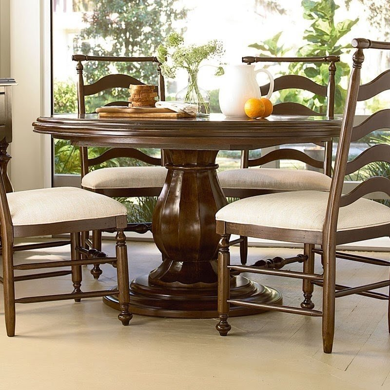 Awesome Paula Deen Pedestal Dining Table 9