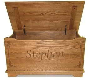 Personalized toy box chest 2