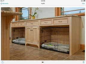 Pet crate table 5