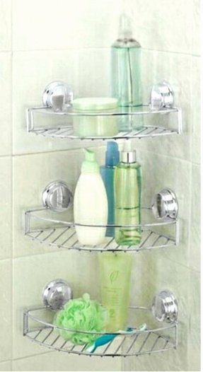 Plastic Corner Shower Shelves Articles with Plastic Corner Shower ...