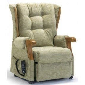 Push button recliner chairs