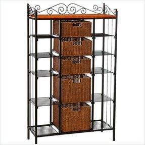 modern bakers rack foter. Black Bedroom Furniture Sets. Home Design Ideas