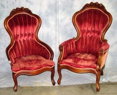 Real Or Fake Victorian Style. Victorian Style Arm Chair