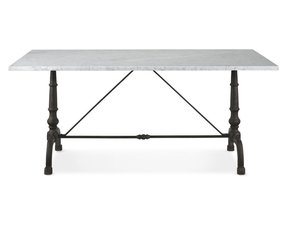 Rectangular bistro table 34