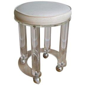 Swell Leather Vanity Stool Ideas On Foter Creativecarmelina Interior Chair Design Creativecarmelinacom