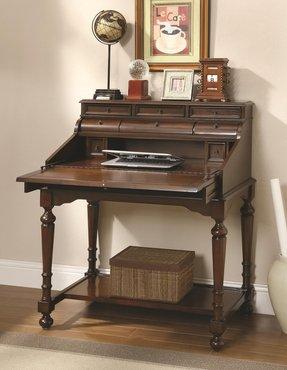 Small Secretary Desk With Hutch Dual Computer Desk