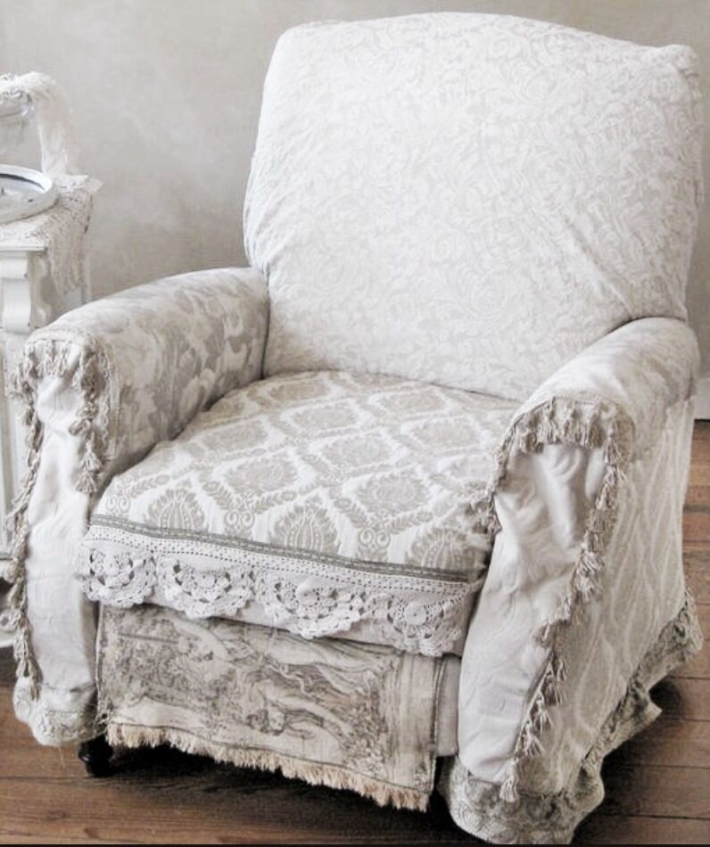 Charmant Slipcovers For Overstuffed Chairs. Slipcover For Lazy Boy Recliner