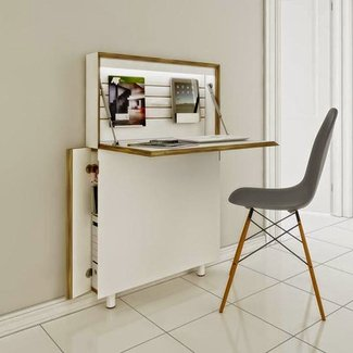 Amazing Small Secretary Desk For Small Spaces Ideas On Foter