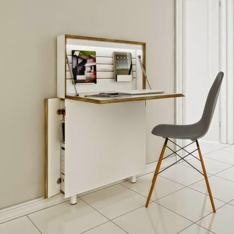Beau Small Secretary Desks For Small Spaces