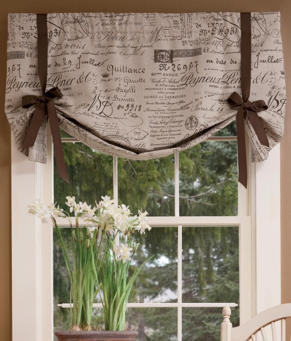 How to make a lined valance