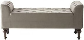 Upholstered Storage Bench With Arms - Ideas on Foter