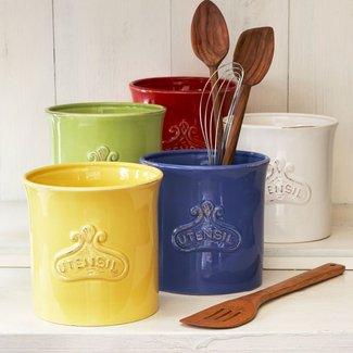 Kitchen Utensil Crock - Ideas on Foter
