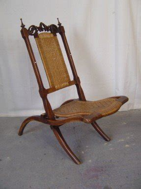 Victorian Folding Chairs 4