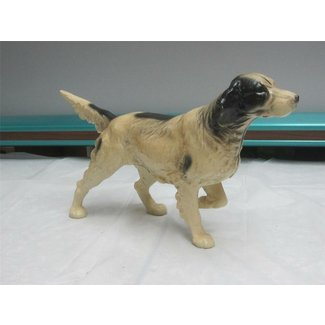 Vintage hubley cast iron english setter pointer hunting dog door