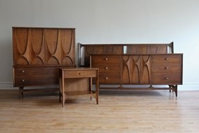 Walnut bedroom furniture sets