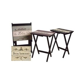 Wine Country 5 Piece Cucina Folding Table Set