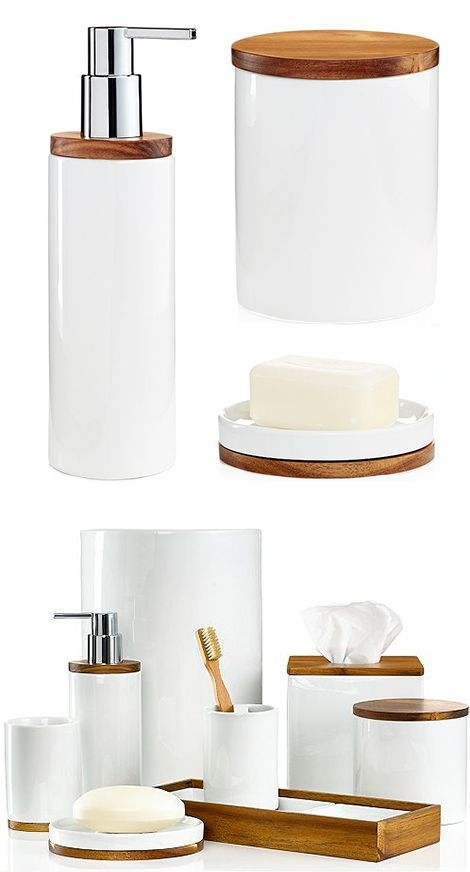 Exceptionnel Wood Bath Accessories 5