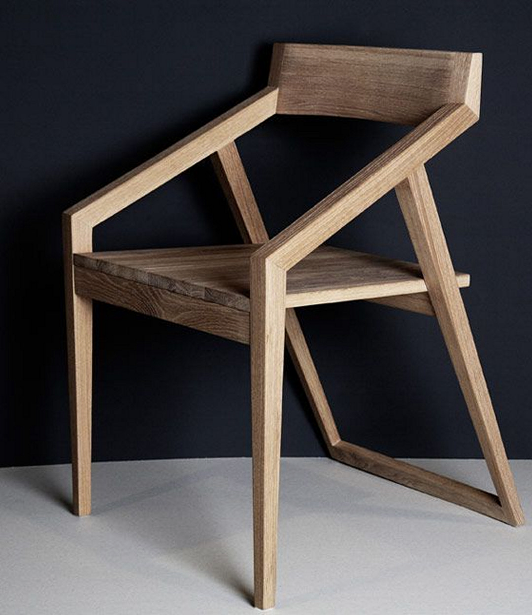 Exceptional Wooden Armchairs