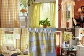 Yellow Plaid Curtains Ideas On Foter