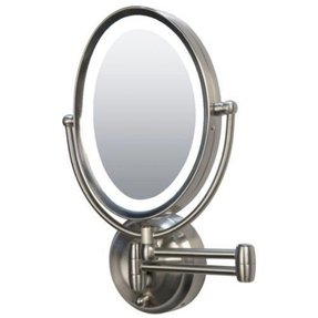 Lighted Makeup Mirror Wall Mount Battery Operated Foter