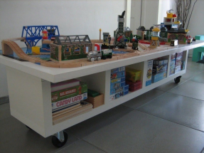 Activity table with storage 2