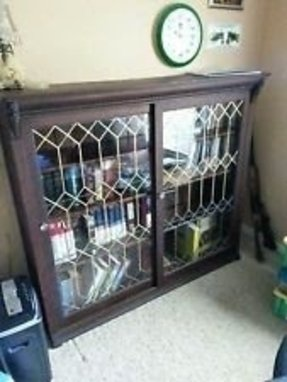 Oak Bookcases With Glass Doors Ideas On Foter