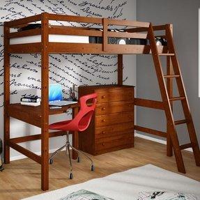 Bed On Top Desk Bottom 1