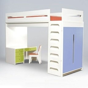 Beds with desks built in