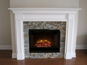 Electric fireplace mantels surrounds foter build electric fireplace surround solutioingenieria Choice Image