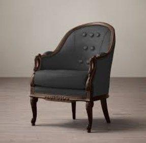 upholstered barrel back chairs foter