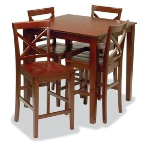 Cherry Wood Pub Table - Foter