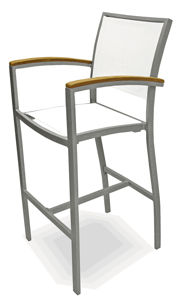 Commercial Outdoor Restaurant Bar Stools Bar Height Counter Height